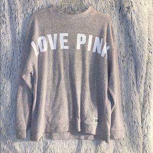 Women's Long Sleeve VS/ PINK Sweatshirt
